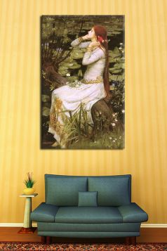 John William Waterhouse – Ophelia