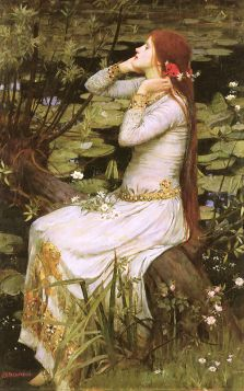 John William Waterhouse – Ophelia