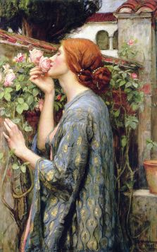 John William Waterhouse – The Soul Of Rose