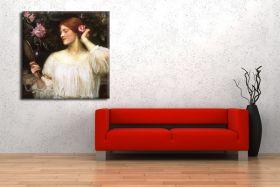 John William Waterhouse – Vanity