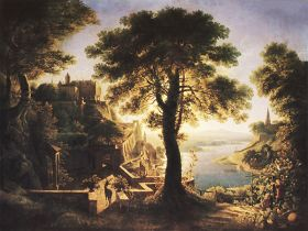 Karl Friedrich Schinkel – Castle by the river