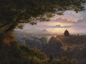 Karl Friedrich Schinkel – Landscape with Pilgrim