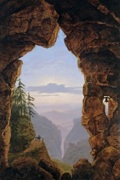 Karl Friedrich Schinkel Wrota w skale