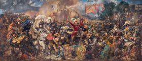 Bitwa Pod Grunwaldem Jan Matejko - reprodukcja