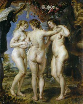 Trzy Gracje Peter Paul Rubens - reprodukcja