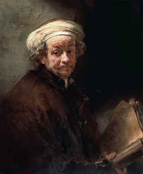 Rembrandt – Autoportret