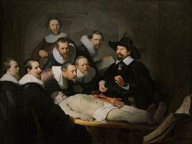 Lekcja Anatomii Doktora Tulpa Rembrandt – reprodukcja obrazu
