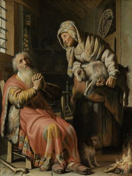 Rembrandt – Tobiasz i Anna