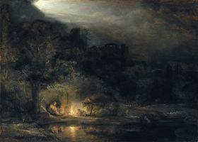Rembrandt – Odpoczynek w czasie ucieczki do Egiptu