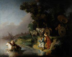 Rembrandt – Porwanie Europy