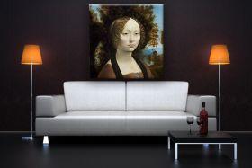 Portret Ginevry Benci - Leonardo da Vinci