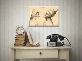 Szkic Leonardo da Vinci - reprodukcja