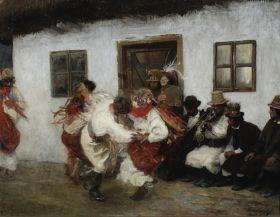 Kołomyjka - Teodor Axentowicz