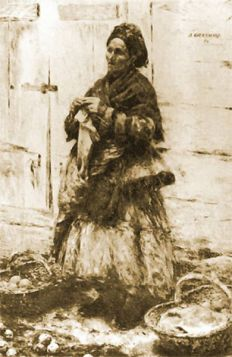 Aleksander Gierymski – Żydówka sprzedająca owoce