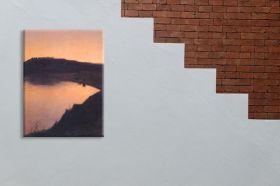 Aleksander Gierymski – Jezioro o zachodzie słońca