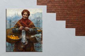 Pomarańczarka - Aleksander Gierymski reprodukcja obrazu