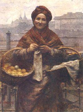 Aleksander Gierymski – Żydówka z cytrynami