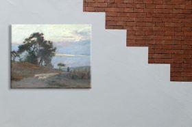 Krajobraz o wschodzie słońca Aleksander Gierymski - reprodukcja