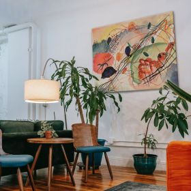 Akwarela 6 - Wassily Kandinsky – reprodukcja
