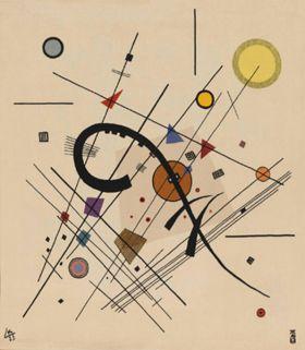 Mały szary kwadrat - Wassily Kandinsky – reprodukcja