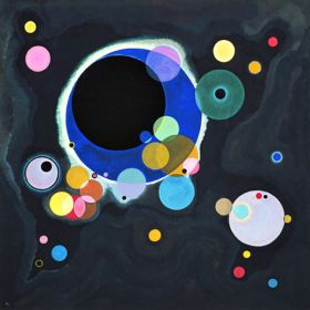 Kilka kół - Wassily Kandinsky – reprodukcja