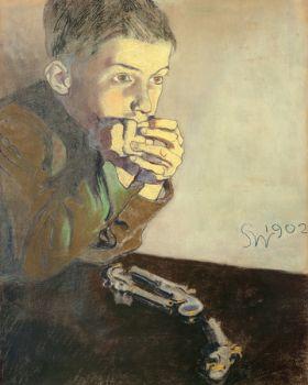 Chłopiec z pistoletami – Stanisław Wyspiański