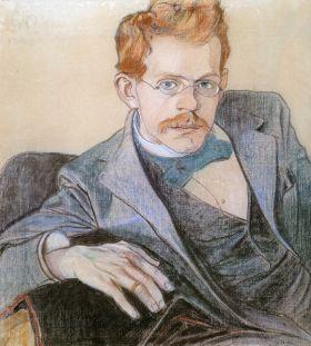 Portret Józefa Mehoffera – Stanisław Wyspiański