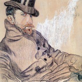 Stanisław Wyspiański – Portret Kazimierza Lewandowskiego