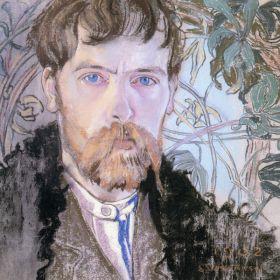 Stanisław Wyspiański – Autoportret w serdaku