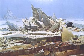 Morze lodu - Caspar David Friedrich – reprodukcja