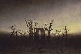 Opactwo w dębowym lesie Caspar David Friedrich - reprodukcja