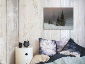 Pejzaż zimowy  - Caspar David Friedrich - reprodukcja