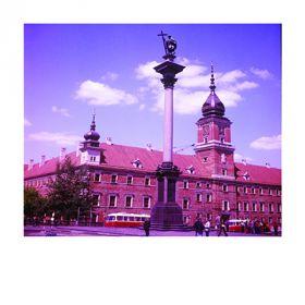 Magnes - Kolumna Zygmunta na tle Zamku Królewskiego