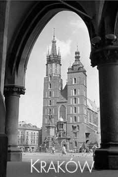 Magnes – Widok na Kościół Mariacki z Sukiennic