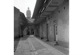 Pocztówka - Podwórze pomiędzy ulicami Meiselsa i Józefa