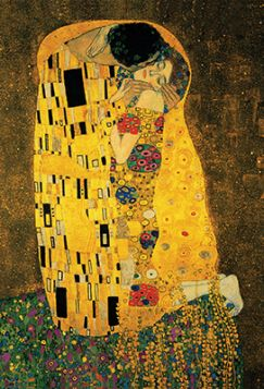 Pocztówka - Gustaw Klimt - The Kiss