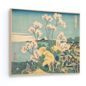 Góra Fuji z Gotenyama na Tōkaidō w Shinagawa - Katsushika Hokusai - reprodukcja