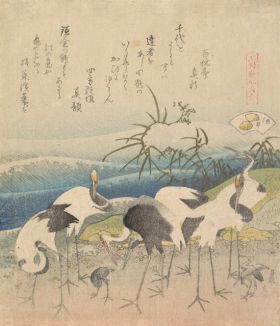 Ashi Clam - Katsushika Hokusai - reprodukcja