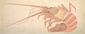Duży homar - Katsushika Hokusai - reprodukcja