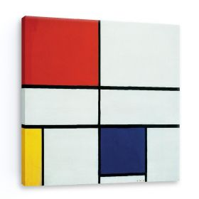 Kompozycja C - Piet Mondrian - reprodukcja