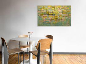 Kompozycja 5 - Piet Mondrian - reprodukcja