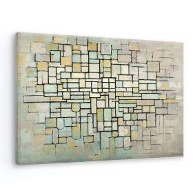 Kompozycja nr II - Piet Mondrian - reprodukcja