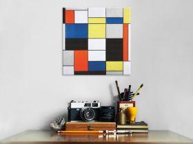 Kompozycja A - Piet Mondrian - reprodukcja