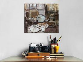 Martwa natura z imbirem - Piet Mondrian - reprodukcja