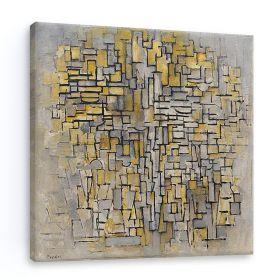 Kompozycja 7 - Piet Mondrian - reprodukcja