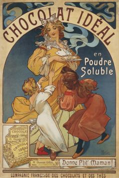 Alfons Mucha – Chocolat Ideal