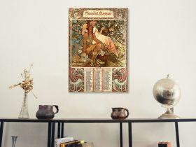 Alfons Mucha – Chocolate Masson