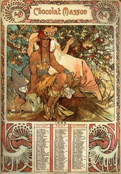 Alfons Mucha – Chocolate Masson