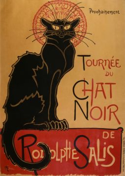 Théophile Alexandre Steinlen - Chat Noir