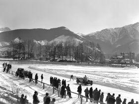 Zawody skijoringowe w Zakopanem